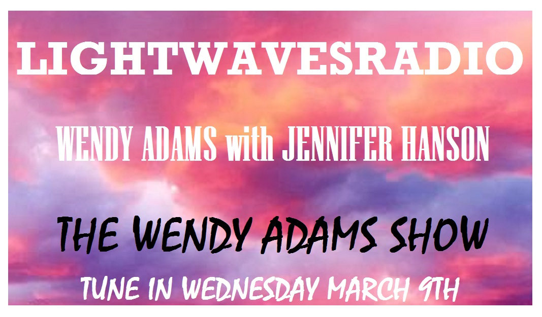 the WENDY ADAMS SHOW TITLE CARD